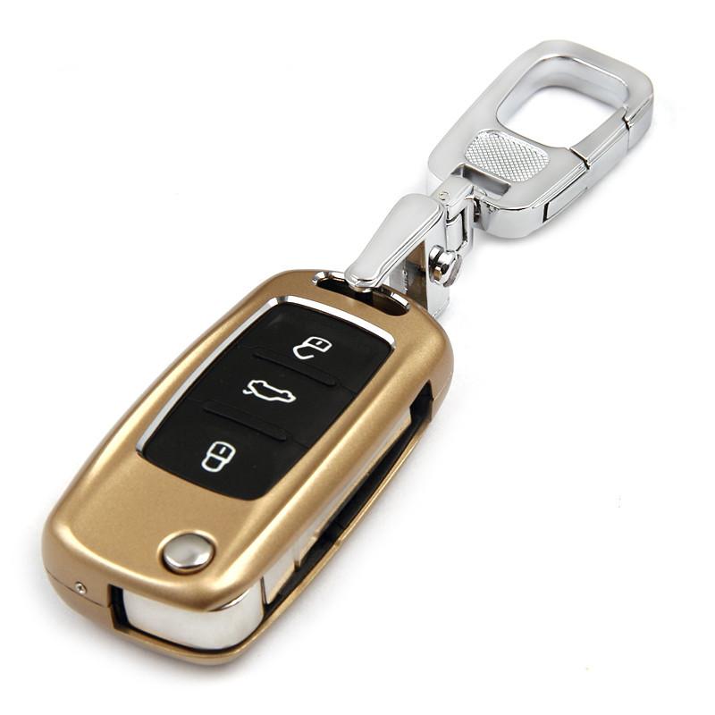 传枫 汽车钥匙包钥匙扣大众桑塔纳polo朗逸帕萨特途观朗行迈腾宝来