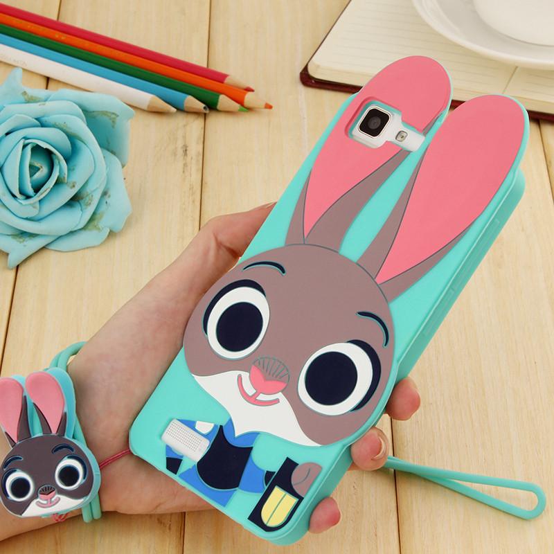 思诺琪 vivo x5l手机保护壳 保护套可爱硅胶兔子防摔步步高x5l手机壳