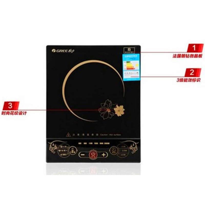 格力大松 gc-20xcf 多功能电磁炉黑色微晶面板耐磨