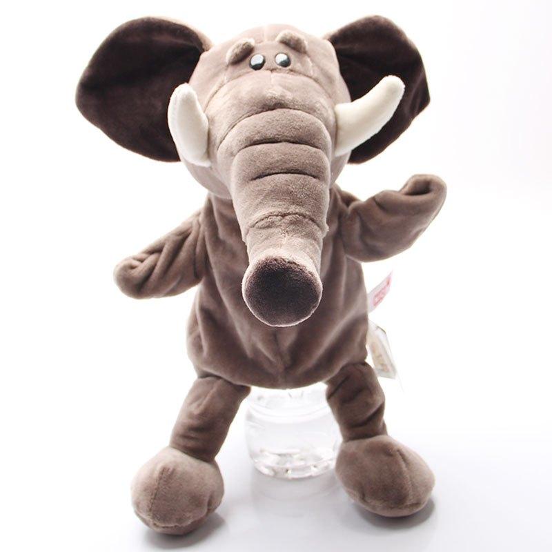 可爱卡通动物带脚系列手偶毛绒玩具公仔安抚娃娃亲子游戏玩具 20cm
