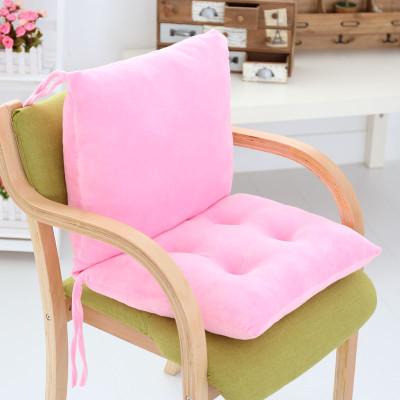 冬季可爱卡通办公室椅垫子餐椅垫 椅子坐垫靠垫一体 学生加厚椅垫