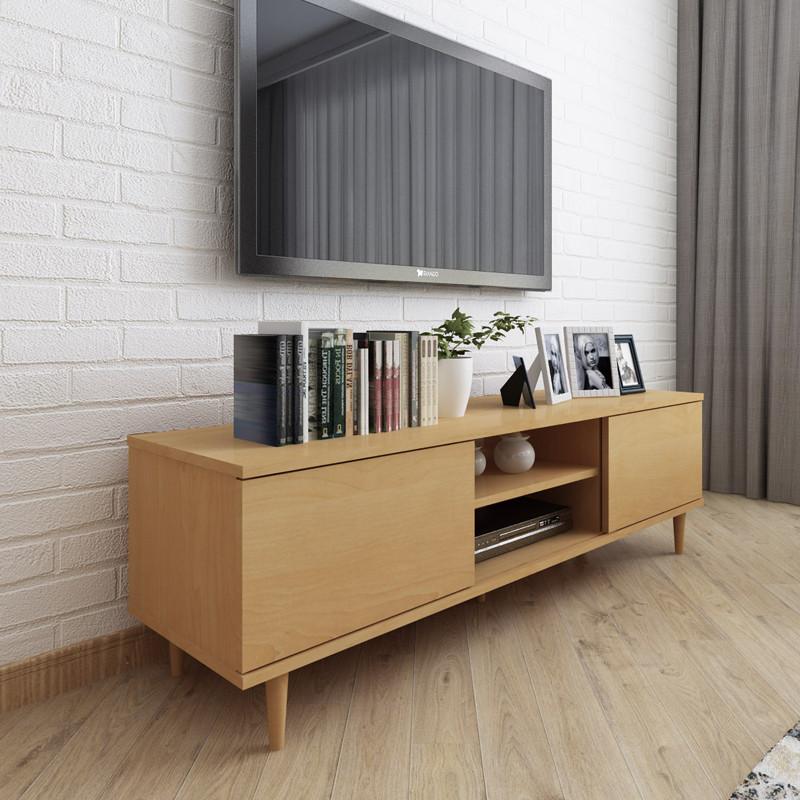 电视柜 简约现代客厅电视柜 小户型卧室电视柜 北欧电视机 储物柜 1.