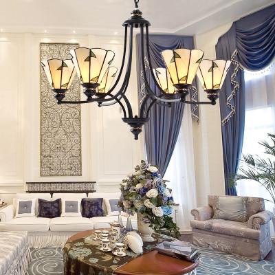 风格灯具卧室灯简欧餐厅美式乡村复古创意服装店休闲区酒店工程灯具 3