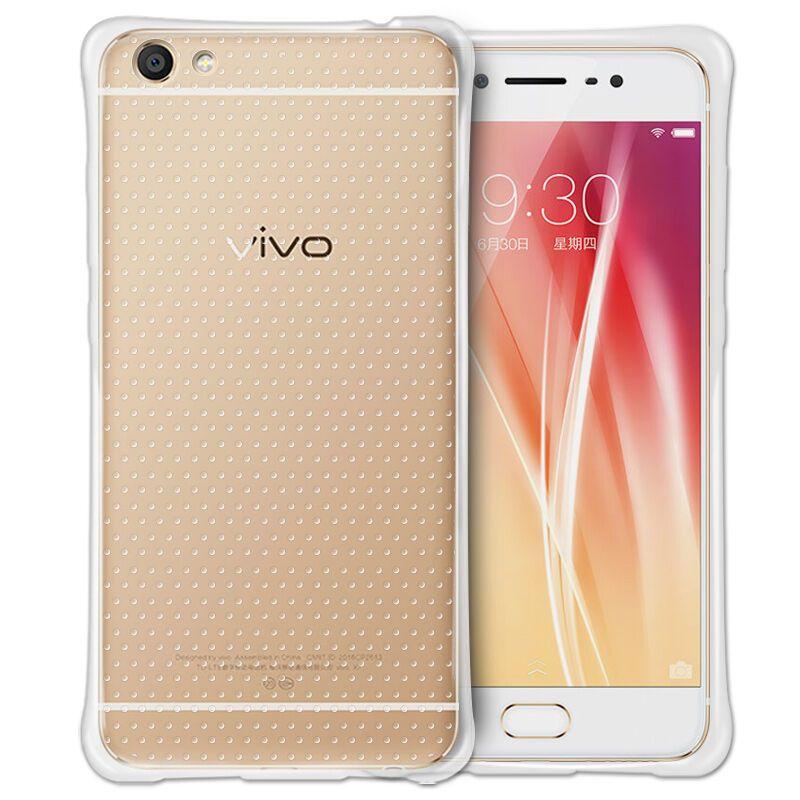 vivox7手机壳vivo x7plus气囊保护硅胶套x7防摔透明软壳女款 x7plus