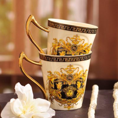 大润窑 欧式宫廷茶具套装 陶瓷托盘茶壶茶杯套装 英式