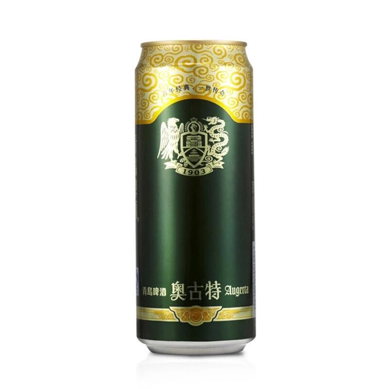 青岛啤酒奥古特500ml*12+白啤500ml*12听 组合装