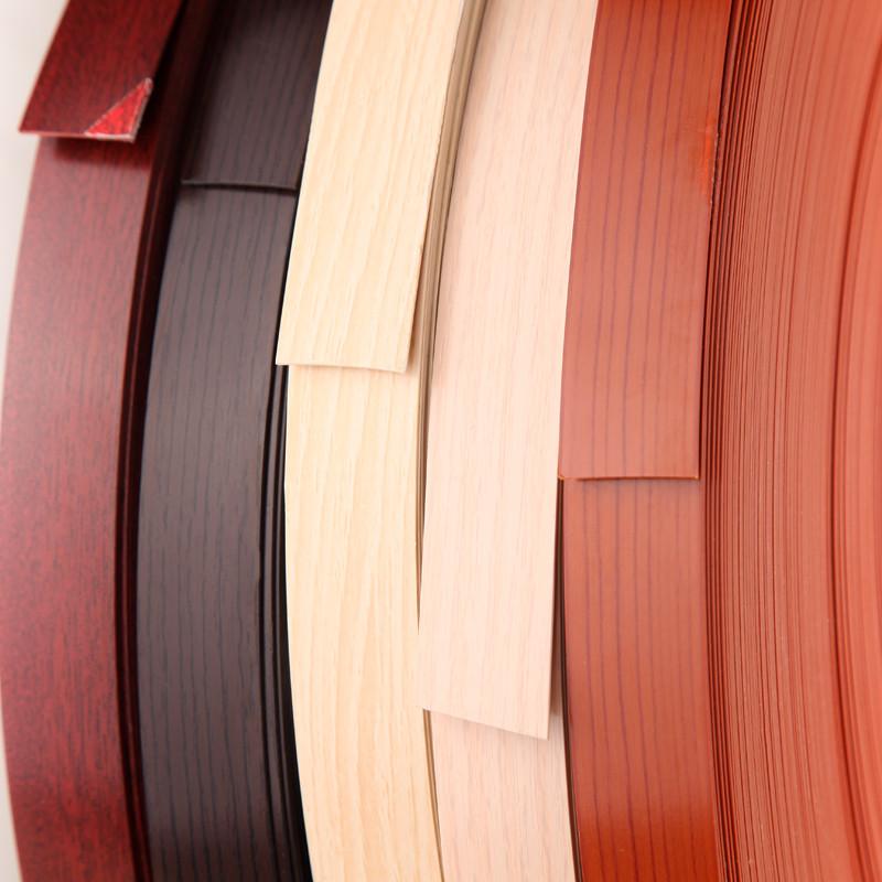 封边条pvc 自粘生态板橱柜免漆木板收边衣柜家具门板包边条 福州高清