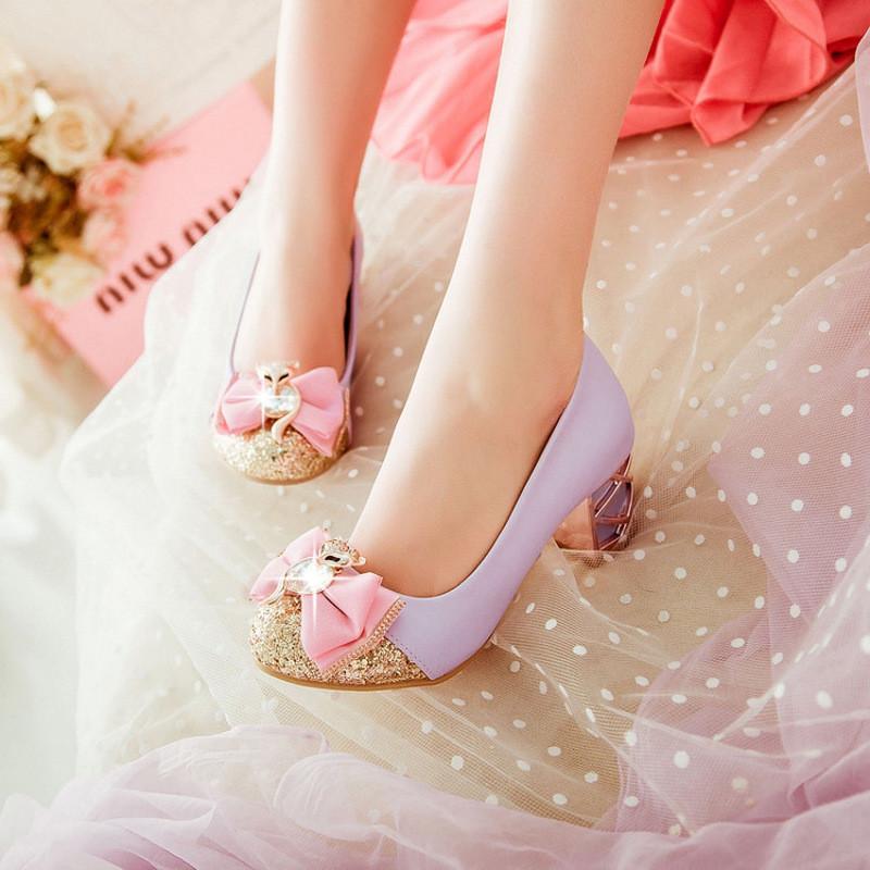 儿童灰姑娘水晶鞋公主高跟鞋10岁女童春大童单鞋夏皮鞋水钻表演女1491