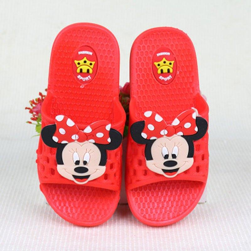 防滑软底浴室洗澡男女孩宝宝男童女童小孩拖鞋可爱卡通男女宝宝鞋子