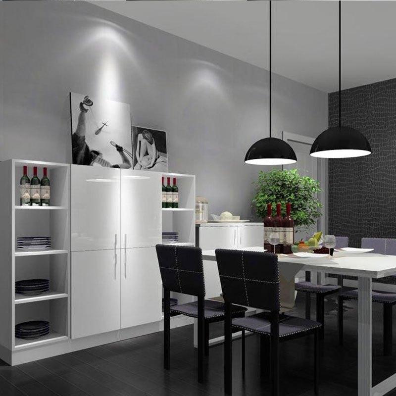 臥室客廳家具翻新貼紙宿舍壁紙自粘平面墻貼 啞光淺灰色60cm寬/3米價