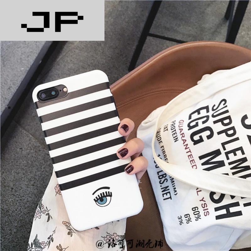 JP潮流品牌可爱创意睫毛眼睛苹果6\/6s手机壳