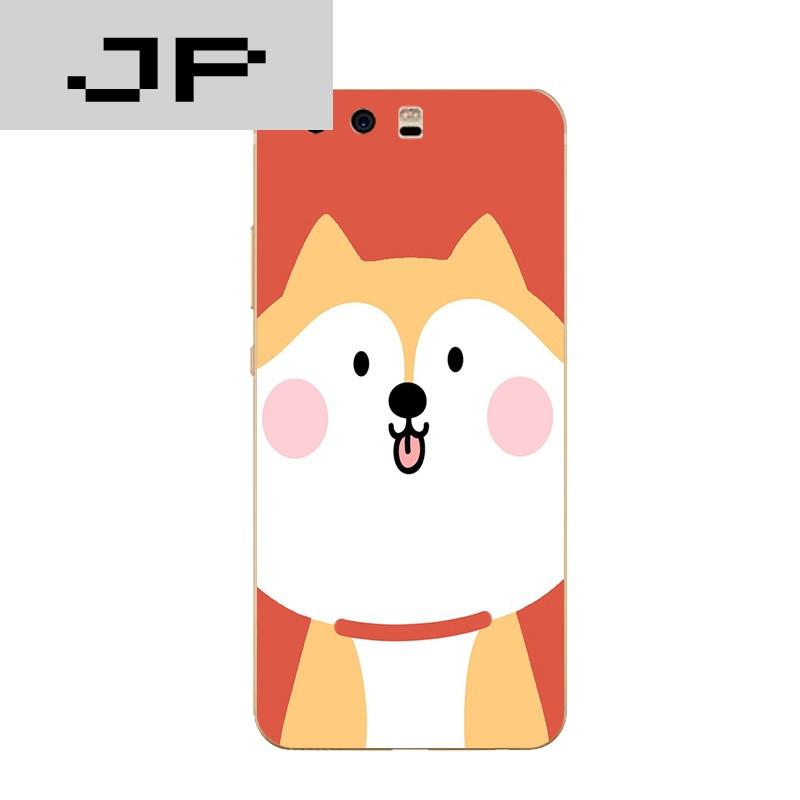 品牌华为p10/plus手机壳荣耀8青春版/v9硅胶保护套q版可爱搞怪柴犬 荣