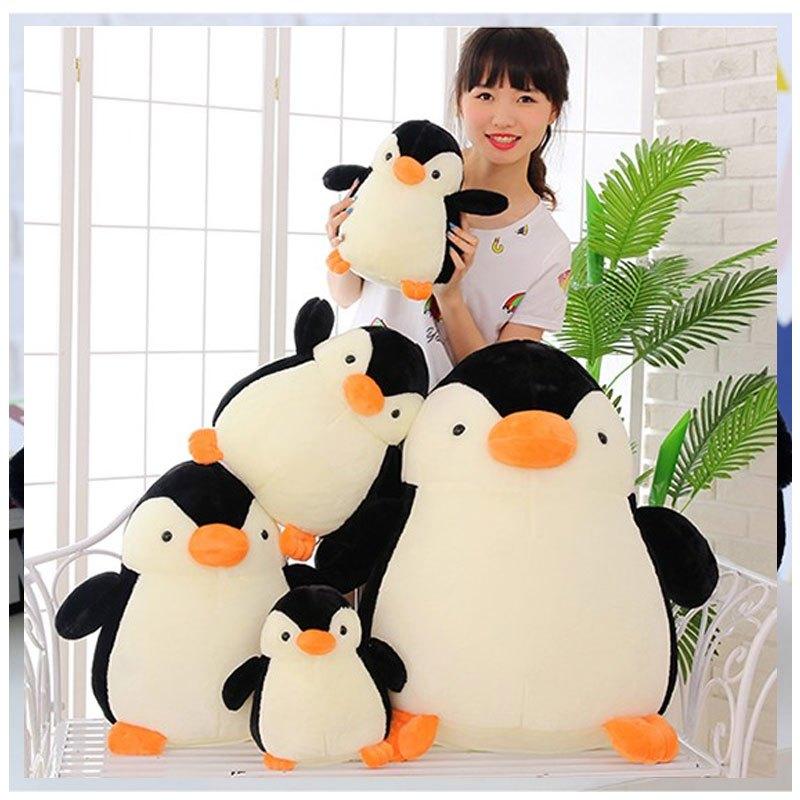 【萌穗系列】2017新品夏季小企鹅公仔毛绒玩具qq企鹅.