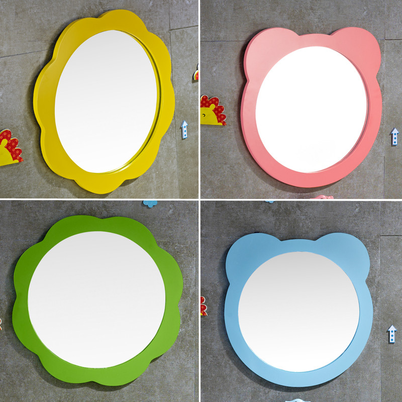 儿童卫生间彩色落地式浴室柜洗手盆组合陶瓷幼儿园卡通洗漱台洗脸盆