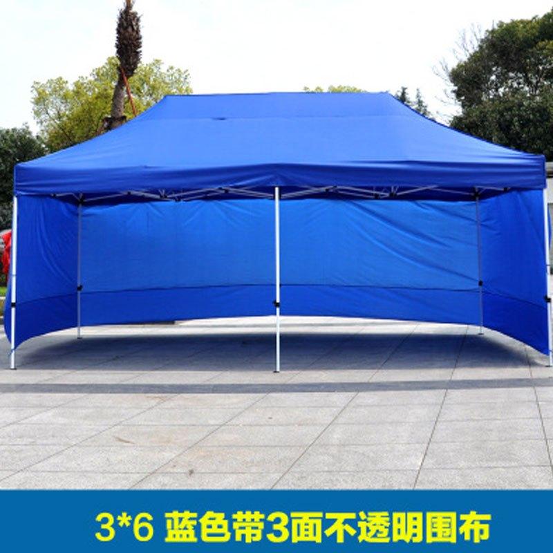 户外广告帐篷印字遮阳棚雨棚伸缩汽车棚四脚折叠摆摊帐篷大伞多功能图片