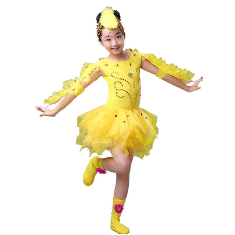 ctrlcity儿童动物舞台小鸡也疯狂演出服装幼儿舞蹈节目表演少儿女童