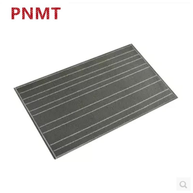 pnmt地毯长条灰色厨房地毯进门入户门地垫卫浴吸水吸油防滑可定制 50*