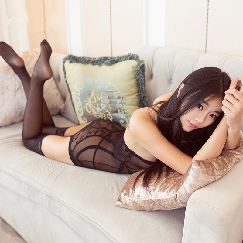 神斧新款挑逗情趣内衣夜场时尚花纹长筒袜性感连身袜吊带透气情趣丝袜花纹有弹力游戏哪些图片