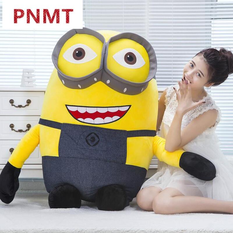 pnmt新款可爱小黄人公仔毛绒玩具抱枕布偶娃娃卡通女孩生日礼物独角兽