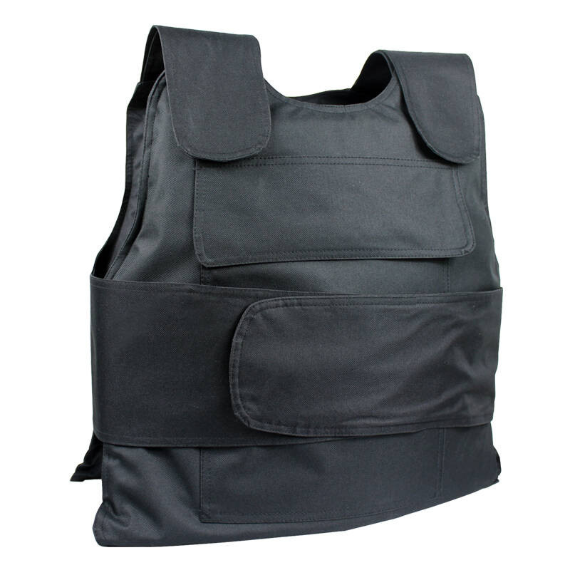 手套幼儿园保安头盔防刺衣保安手持防护安保器材 硬黑色防刺服配保单