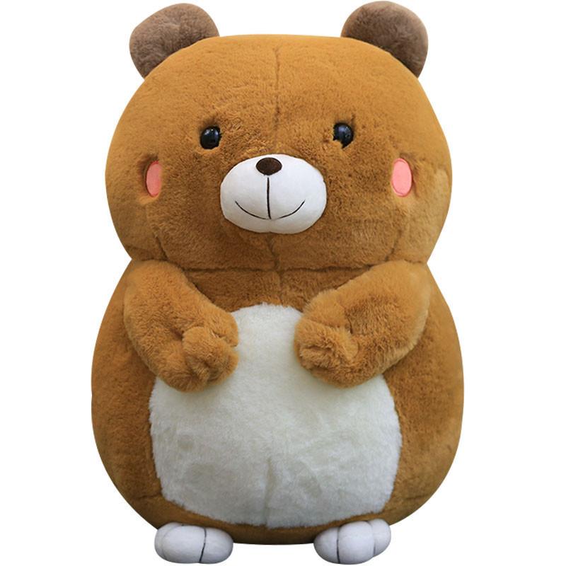 可爱胖仓鼠公仔布娃娃玩偶毛绒玩具抱枕情侣生日礼物萌送女生男孩_2