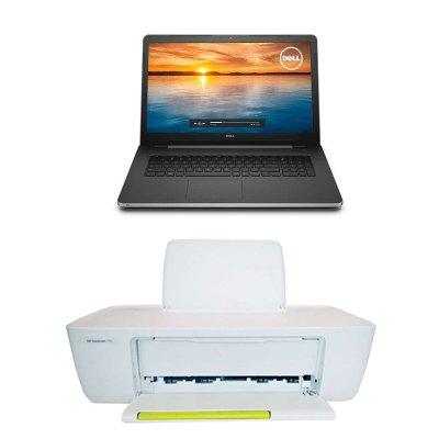 笔记本电脑+惠普1112彩色