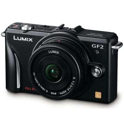 Panasonic 松下 LUMIX DMC-GF2CGK 单镜套机(14mm定焦)