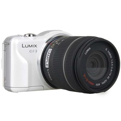 新低价:Panasonic 松下 Lumix DMC-GF3 微单套机(14-42套机)