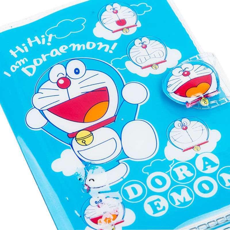 哆啦a梦简笔画带颜色-哆啦A梦系列卡片本 1083