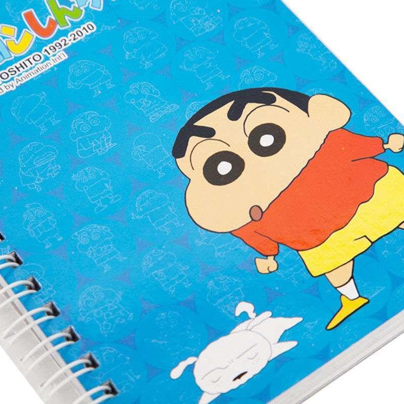 哆啦a梦系列蜡笔小新双线圈笔记本1564