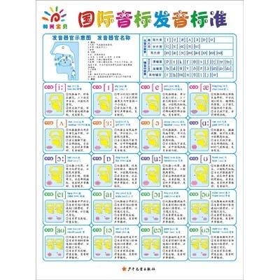 三采 阳光宝贝大挂图:国际音标发音标准图片