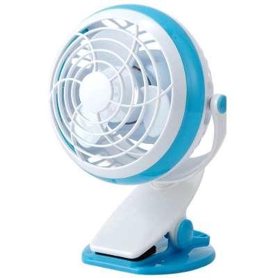 澳柯玛 迷你电风扇 FT-04K26(USB/干电池供电)白蓝  19元包邮