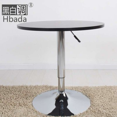 【黑白调】欧式咖啡桌子hcj52圆桌时尚简约田园沙发