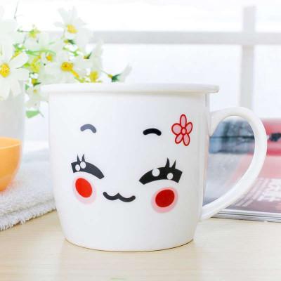 可爱时尚陶瓷杯子卡通杯马克杯具早餐牛奶杯奶茶咖啡