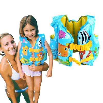 儿童充气救生衣intex游泳衣游泳装备背心