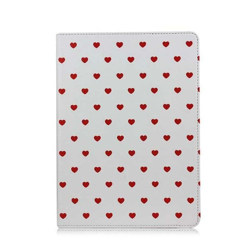 心飞翔 波点爱心卡通可爱系列 适用于苹果ipad air/5保护套 ipad5皮