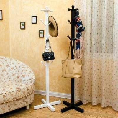 欧式衣帽架落地田园挂衣架简易室内卧室衣架