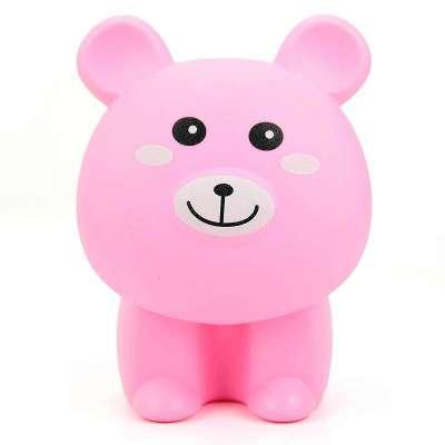 艾嘉居 可爱小熊可折叠充电式16led小台灯 床头灯 卡通灯