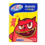 养生堂成长快乐Acerola天然VC Q片混合胶型凝胶糖果(含有天然VC)150G