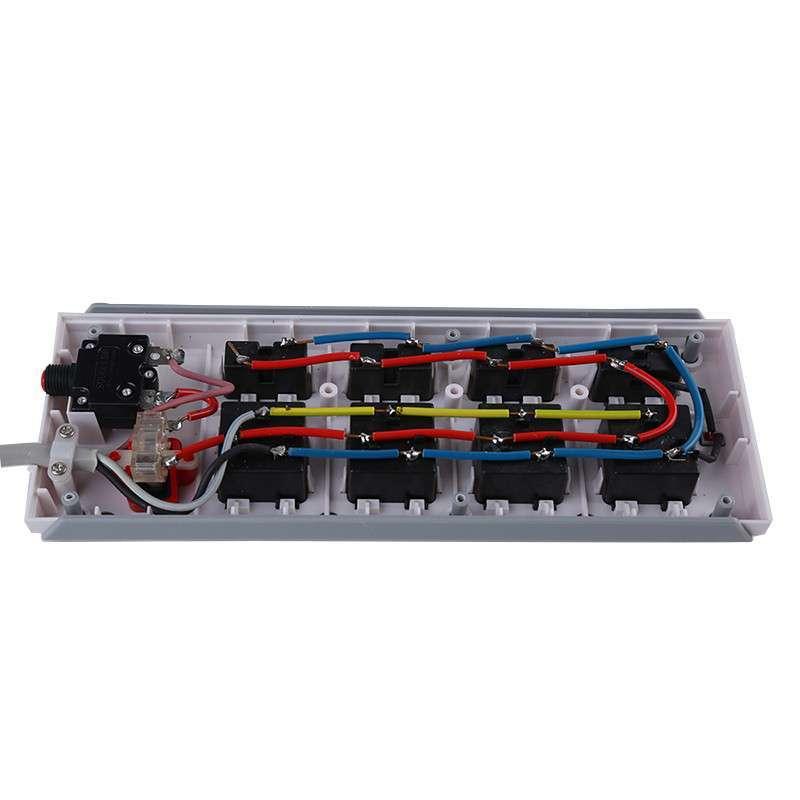美利浦电源插座接线板 八位插线板 大功率拖线板排插