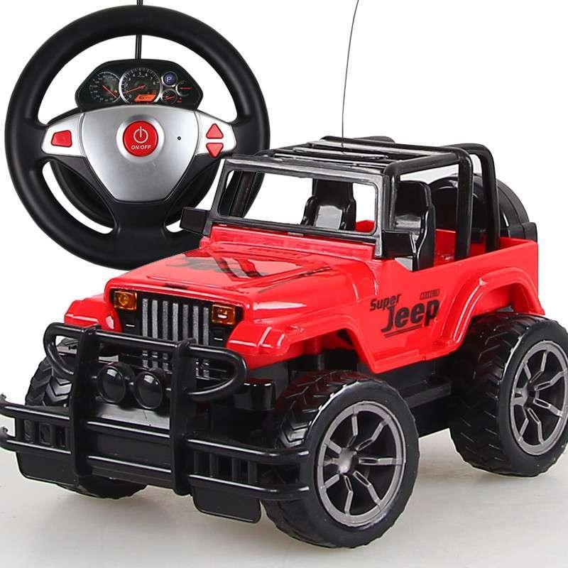 活石 方向盘遥控车 重力感应遥控汽车 充电动儿童遥控