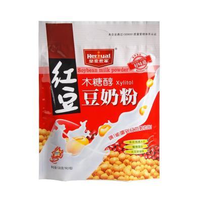 皇麦世家538g木糖醇红豆豆奶粉