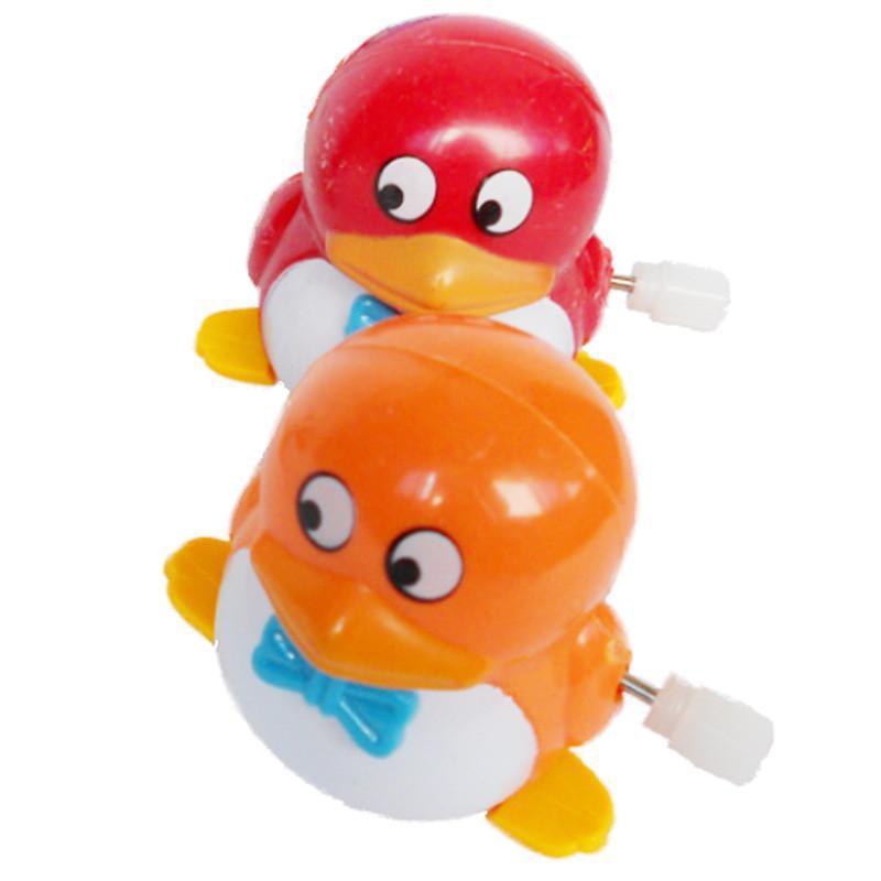 乐婴坊 发条玩具 会走的小企鹅 可爱的小qq迷你公仔 造型很萌