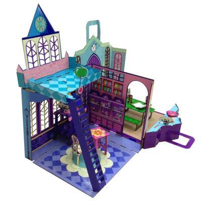 礼盒芭芘3D接图芭比娃娃甜屋别墅家具大梦幻别墅园林设计要素图片