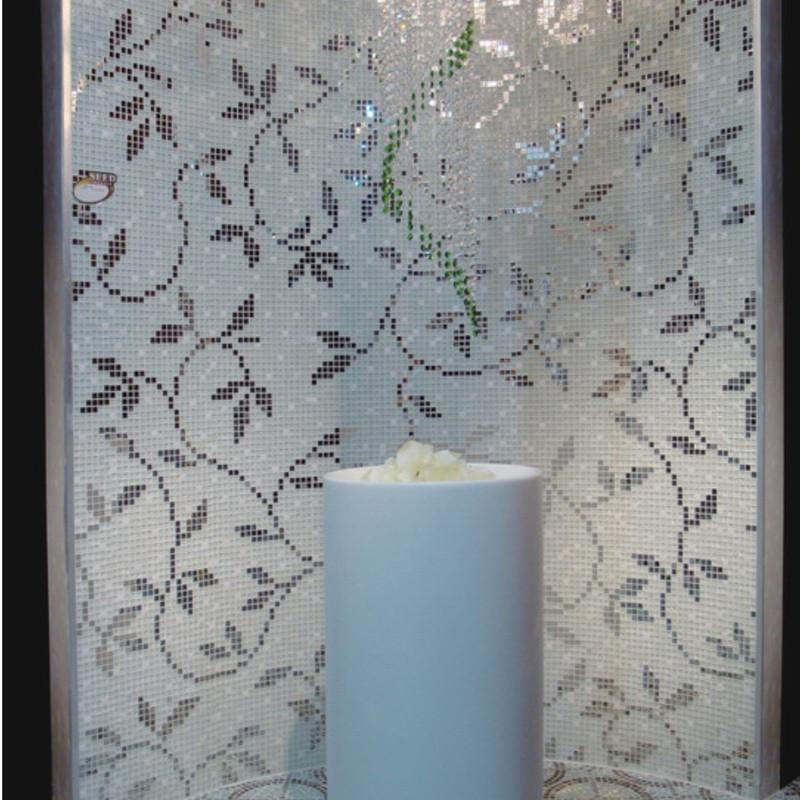 镜面欧式拼花拼图背景墙瓷砖墙贴装修材料
