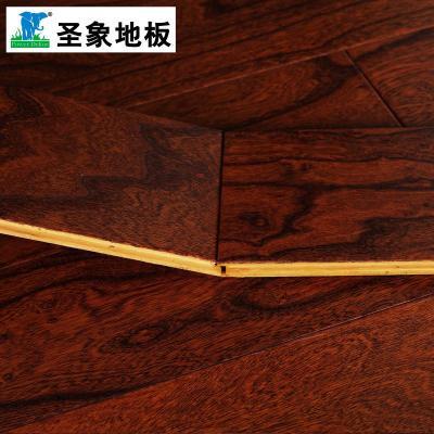 圣象多层实木复合木地板榆木na2178榆巧恋曲适地暖防潮防虫厂家直销