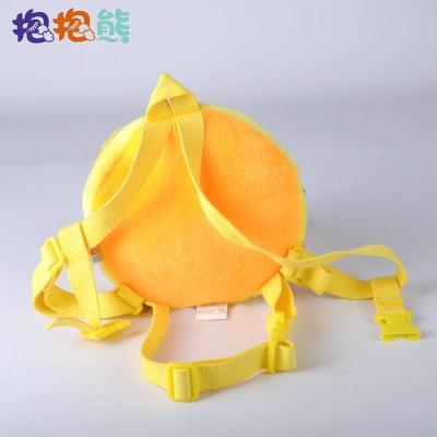 抱抱熊卡通造型小黄鸭儿童防走失带牵引绳 防