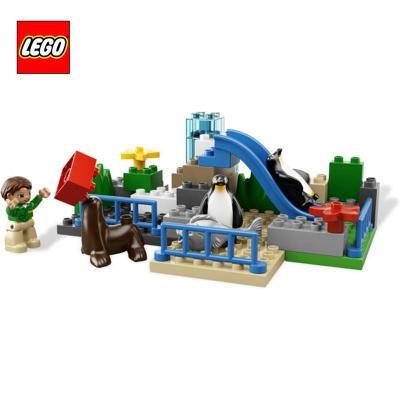 包邮正品lego乐高l6157得宝系列大型动物园益智拼插