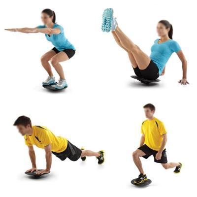 骐骏 高档健身平衡踏板 私人教练平衡稳定训练