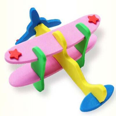 儿童手工飞机制作
